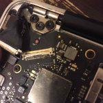 Réparation de dommages liquides d'ordinateur portable